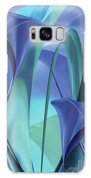 Calla Lilies Galaxy Case