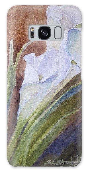 Calla Lillies Galaxy Case by Sandra Strohschein