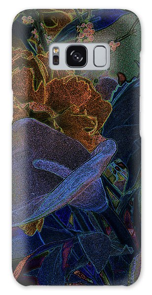 Calla Lily Abstract Galaxy Case by Stuart Turnbull