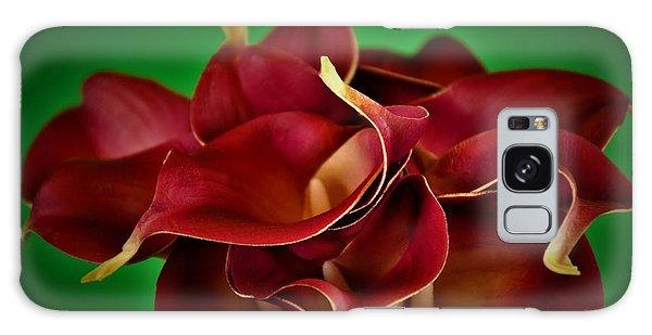 Calla Lily Bouquet Galaxy Case by Ray Shrewsberry
