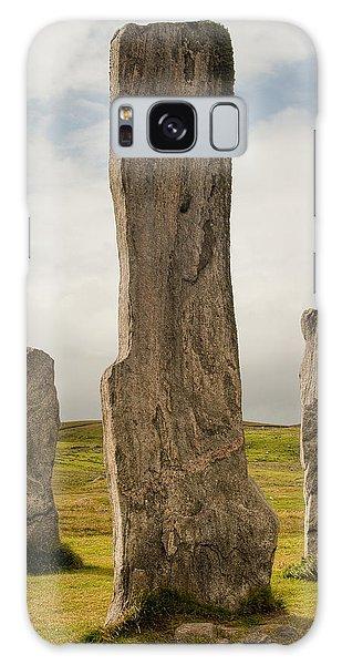 Callanish Standing Stones Galaxy Case
