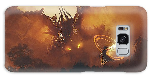 Calling Of The Dragon Galaxy Case