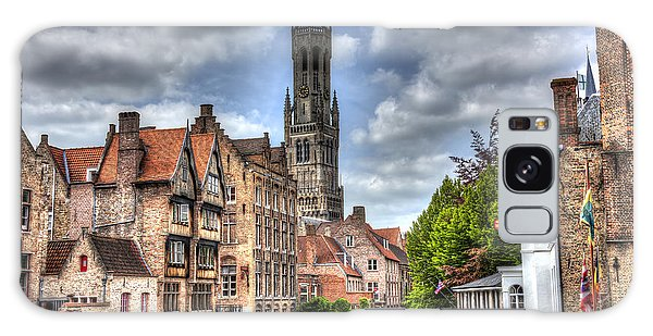 Calm Afternoon In Bruges Galaxy Case by Shawn Everhart