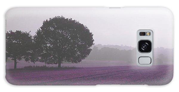 Calm Autumn Mist Galaxy Case