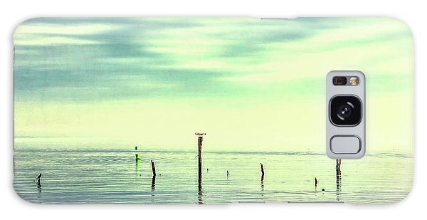 Galaxy Case featuring the photograph Calm Bayshore Morning N0 1 by Gary Slawsky