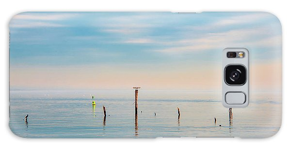 Galaxy Case featuring the photograph Calm Bayshore Morning N0 3 by Gary Slawsky