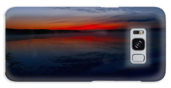 Calm Of Early Morn Galaxy Case by Jeff Swan