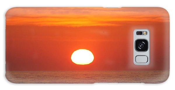 Calm Seas Sunrise Galaxy Case by Robert Banach