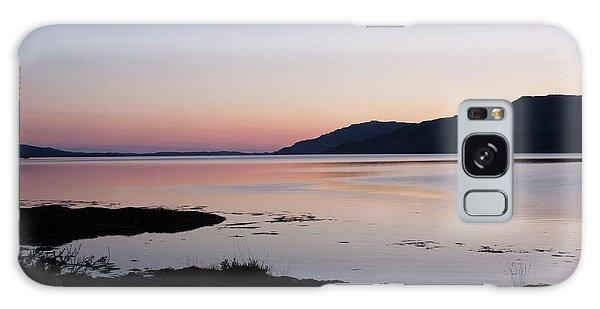 Calm Sunset Loch Scridain Galaxy Case