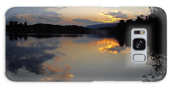 Calm Sunset Galaxy Case by Vilas Malankar