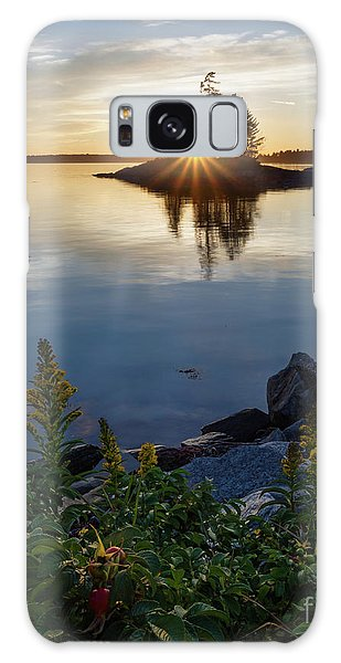Calm Water At Sunset, Harpswell, Maine -99056-99058 Galaxy Case