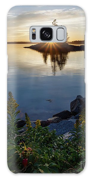 Calm Water At Sunset, Harpswell, Maine -99056-99058 Galaxy Case by John Bald