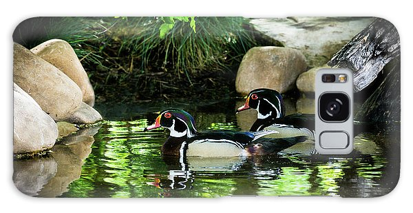 Calm Waters - Wood Ducks Galaxy Case