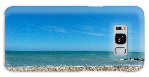 Calming Seaside View Galaxy Case
