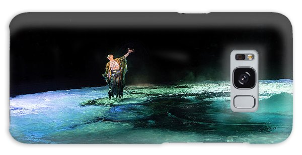Galaxy Case featuring the photograph Calming The Waters by Alex Lapidus