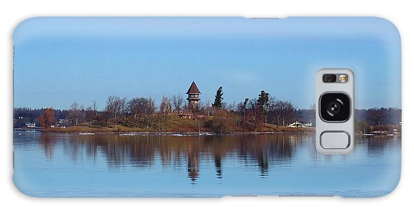 Calumet Island Reflections Galaxy Case