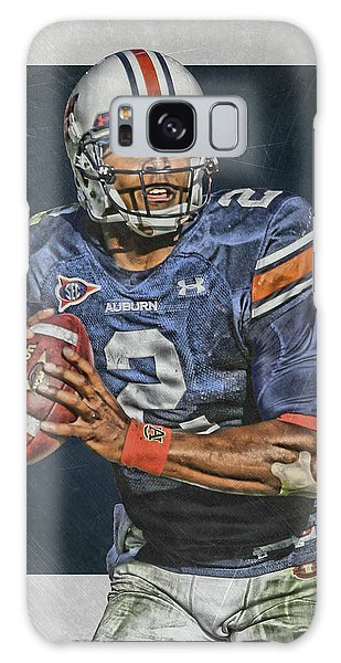 Panther Galaxy S8 Case - Cam Newton Auburn Tigers Art by Joe Hamilton