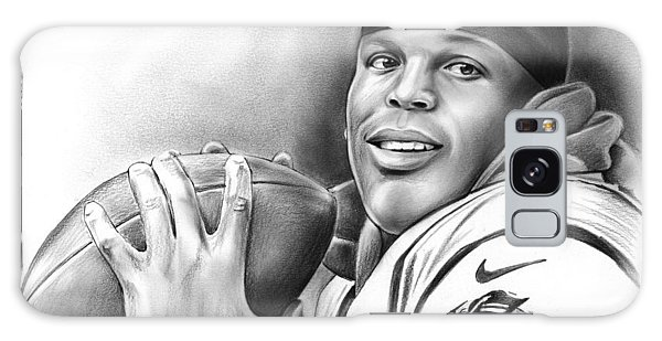 Panther Galaxy Case - Cam Newton by Greg Joens