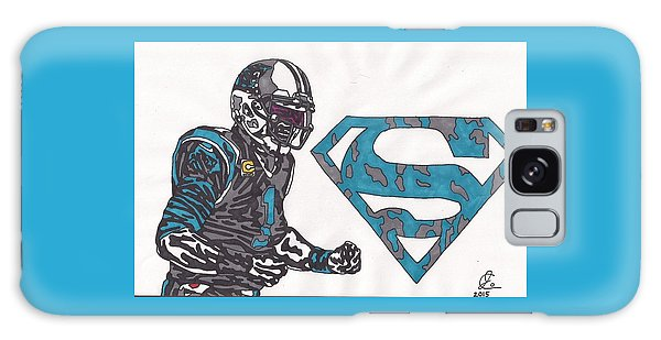 Cam Newton Superman Edition Galaxy Case by Jeremiah Colley