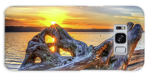 Camano Sunrise Galaxy Case