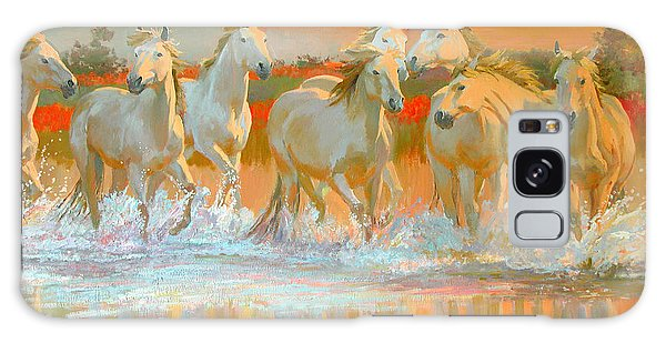 Horse Galaxy Case - Camargue  by William Ireland