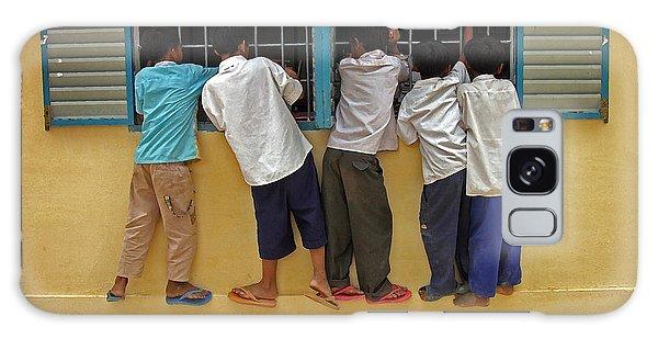 Cambodian School Children Galaxy Case