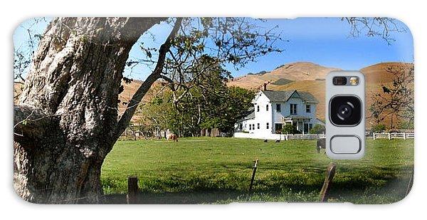 Cambria Farm House Galaxy Case