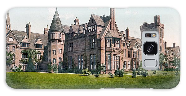 Cambridge - England - Girton College Galaxy Case
