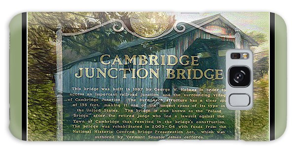 Cambridge Jct. Bridge History Galaxy Case