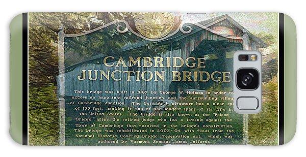 Cambridge Jct. Bridge History Galaxy Case by John Selmer Sr