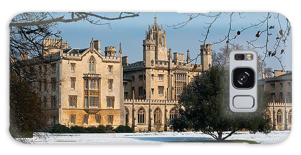 Cambridge Snowscape Galaxy Case