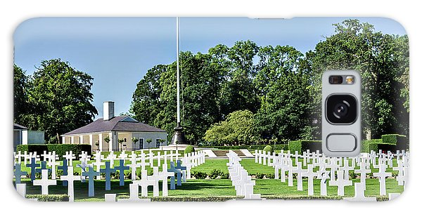 Cambridge England American Cemetery Galaxy Case by Alan Toepfer