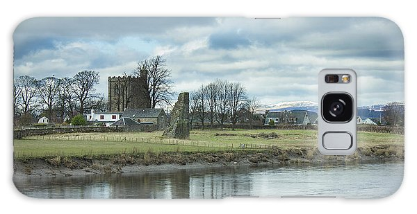 Cambuskenneth Abbey And The River Forth Galaxy Case