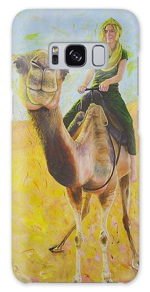 Camel At Work Galaxy Case