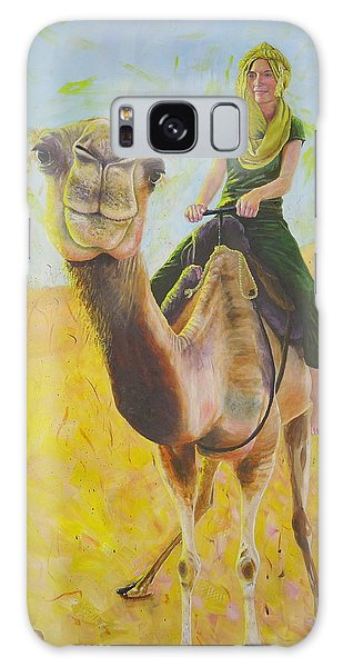 Camel At Work Galaxy Case