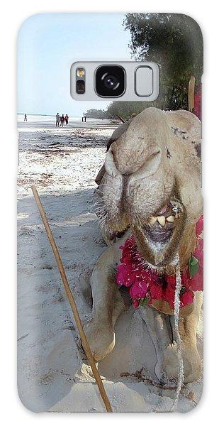 Exploramum Galaxy Case - Camel On Beach Kenya Wedding2 by Exploramum Exploramum