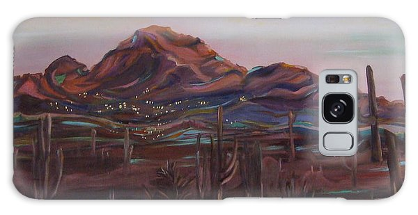 Camelback Mountain Galaxy Case by Julie Todd-Cundiff