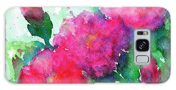 Camellia Abstract Galaxy Case