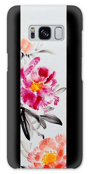 Camellia And Butterfly Galaxy Case