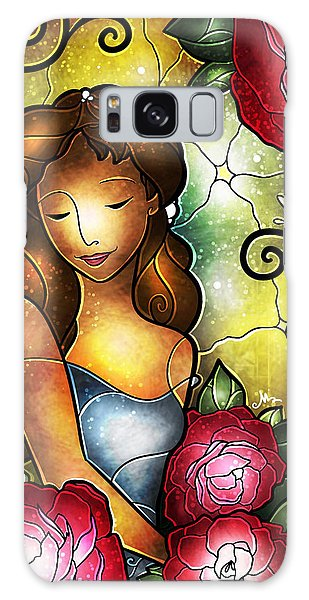Lady Camellia Galaxy Case