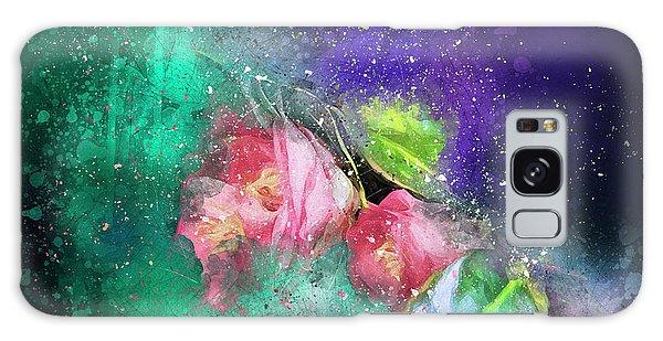Camellias In A Galaxy Far Far Away Galaxy Case