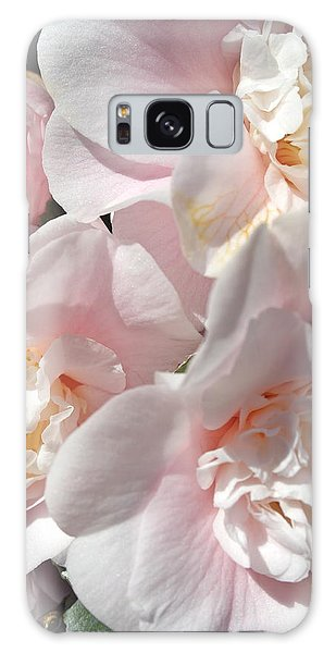 Camellias Softly Galaxy Case