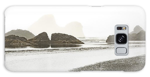 Camel Rock From Moonstone Beach Galaxy Case