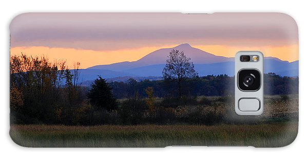 Camel's Hump Mountain From Dead Creek Galaxy Case by John Burk