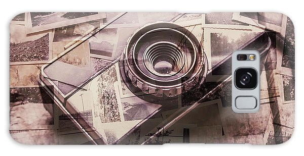 Camera Galaxy Case - Camera Of A Vintage Double Exposure by Jorgo Photography - Wall Art Gallery