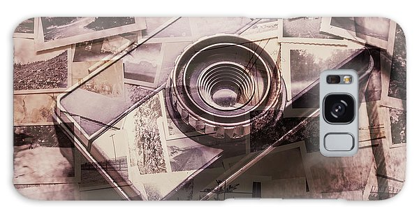 Vintage Camera Galaxy Case - Camera Of A Vintage Double Exposure by Jorgo Photography - Wall Art Gallery