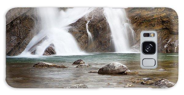 Cameron Falls In Waterton Lakes National Park Galaxy Case