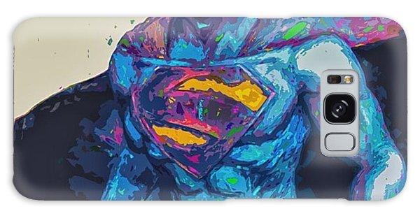 Superhero Galaxy Case - @cameron1newton #superbowl50 #2016 #art by David Haskett II