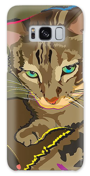 Camouflage Bengal Cat Galaxy Case