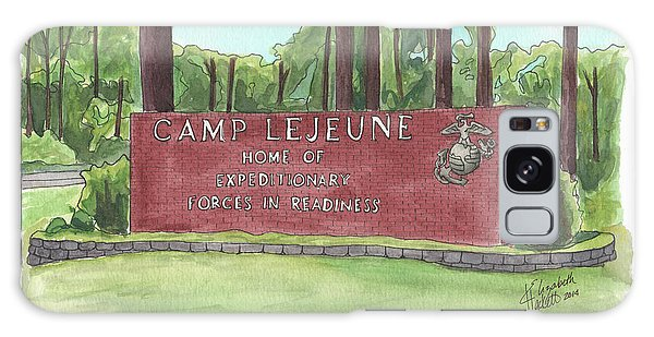 Camp Lejeune Welcome Galaxy Case